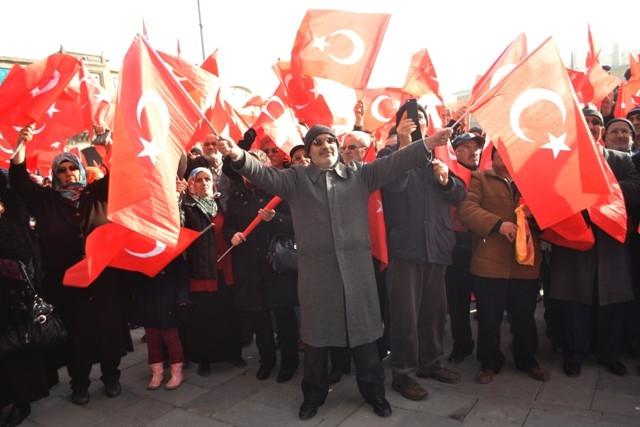 """Konya, """"Milli İrade""""ye kast edenleri telin etti... 2"""