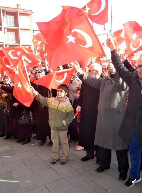 """Konya, """"Milli İrade""""ye kast edenleri telin etti... 3"""