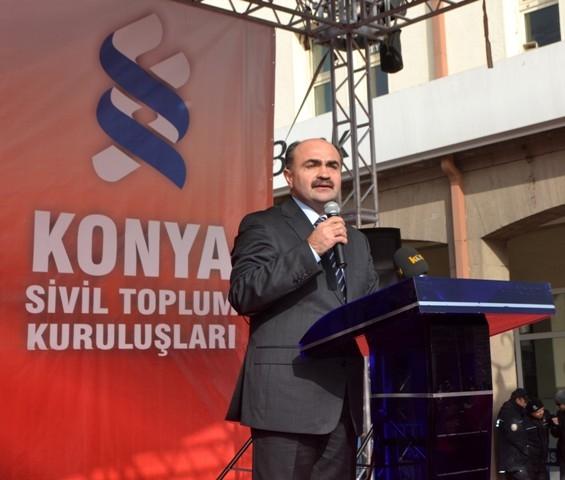 """Konya, """"Milli İrade""""ye kast edenleri telin etti... 5"""