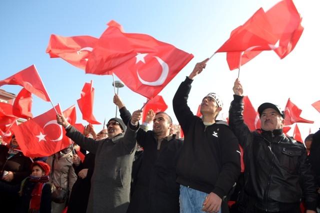 """Konya, """"Milli İrade""""ye kast edenleri telin etti... 8"""