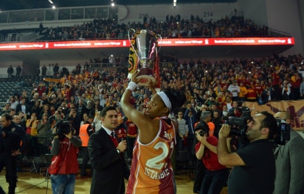 Kupa Galatasaray Odeabank'ın 1