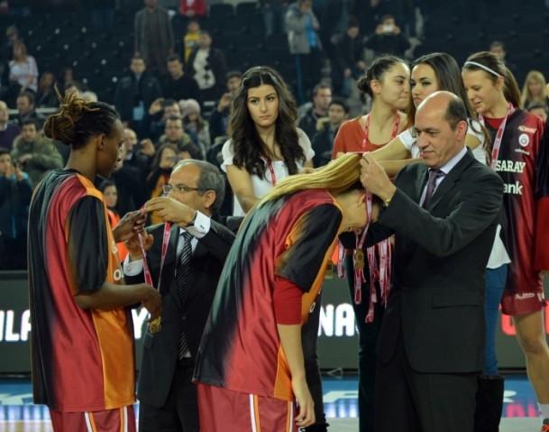 Kupa Galatasaray Odeabank'ın 10