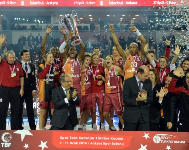 Kupa Galatasaray Odeabank'ın 3