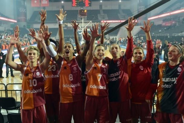 Kupa Galatasaray Odeabank'ın 4