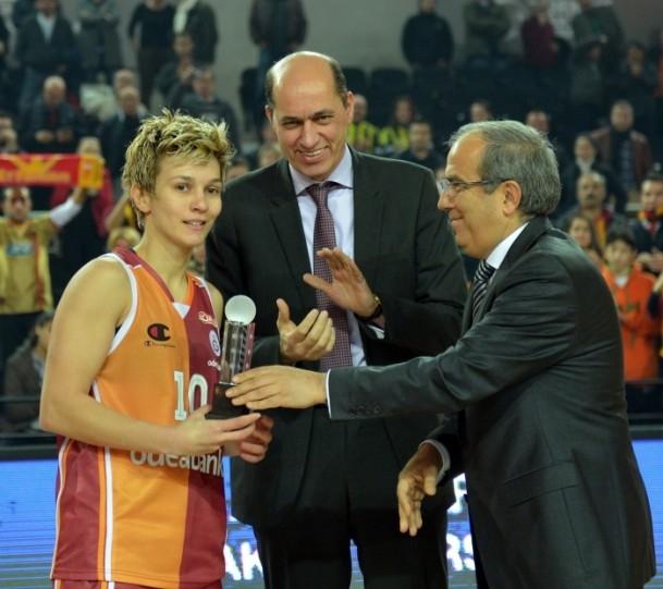 Kupa Galatasaray Odeabank'ın 6