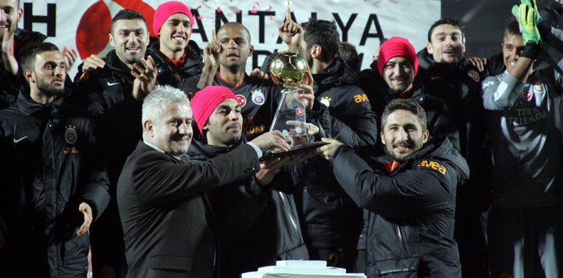 Turkish Airlines Antalya Cup Galatasaray'ın 15