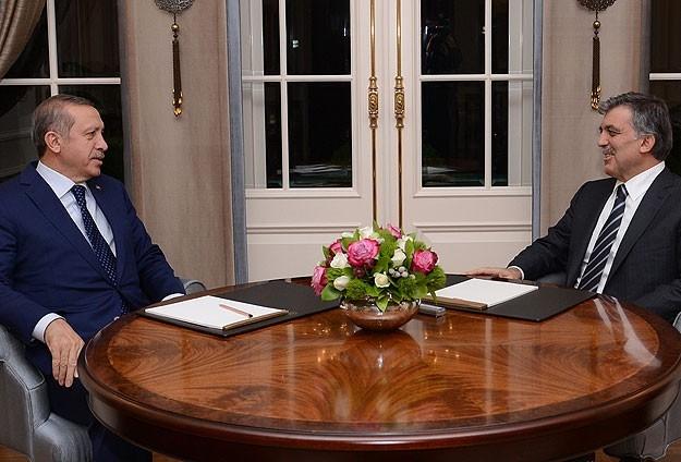 Cumhurbaşkanı Gül liderlerle görüştü 1