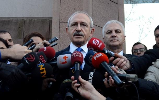 Cumhurbaşkanı Gül liderlerle görüştü 11