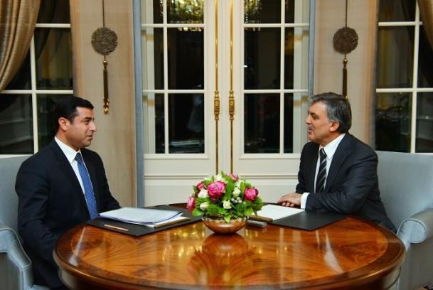 Cumhurbaşkanı Gül liderlerle görüştü 12
