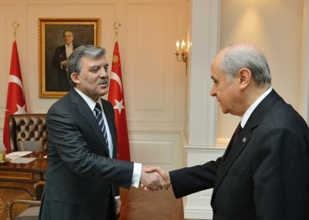 Cumhurbaşkanı Gül liderlerle görüştü 13