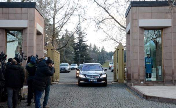 Cumhurbaşkanı Gül liderlerle görüştü 14
