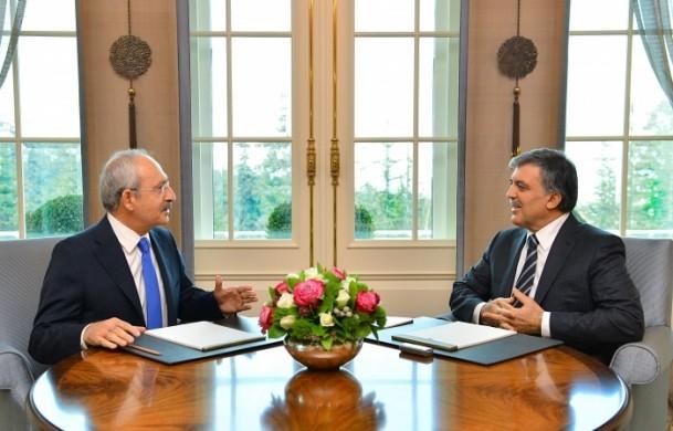 Cumhurbaşkanı Gül liderlerle görüştü 2
