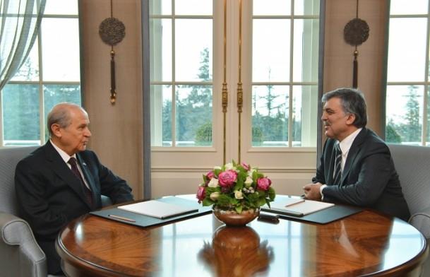 Cumhurbaşkanı Gül liderlerle görüştü 4
