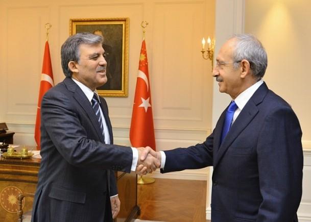 Cumhurbaşkanı Gül liderlerle görüştü 6