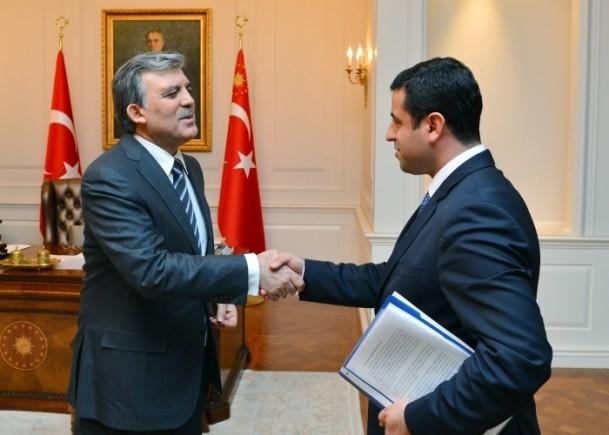 Cumhurbaşkanı Gül liderlerle görüştü 9