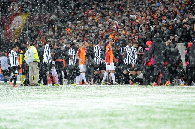Galatasaray-Juventus maçına kar engeli 1