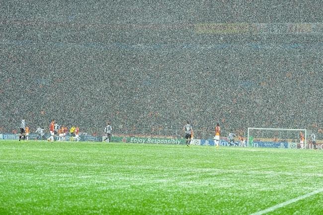 Galatasaray-Juventus maçına kar engeli 3
