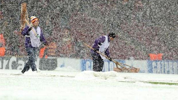 Galatasaray-Juventus maçına kar engeli 6