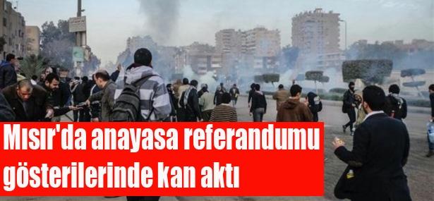 Mısır'da anayasa referandumunu boykot gösterileri 1