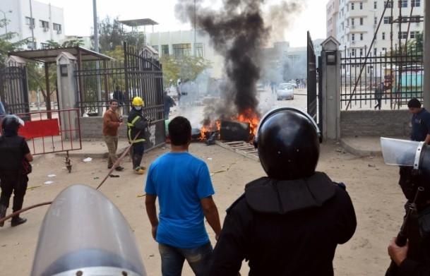 Mısır'da anayasa referandumunu boykot gösterileri 10