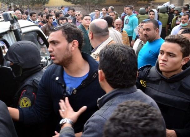 Mısır'da anayasa referandumunu boykot gösterileri 11