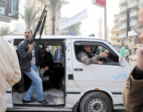 Mısır'da anayasa referandumunu boykot gösterileri 6