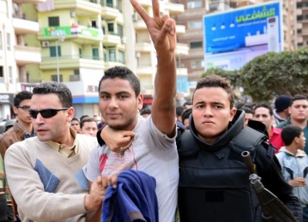 Mısır'da anayasa referandumunu boykot gösterileri 7