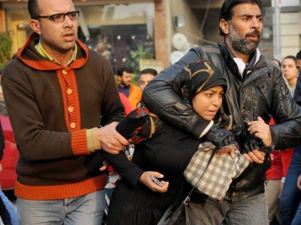 Mısır'da anayasa referandumunu boykot gösterileri 8