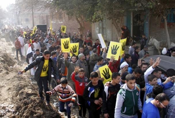 Mısır'da anayasa referandumunu boykot gösterileri 9