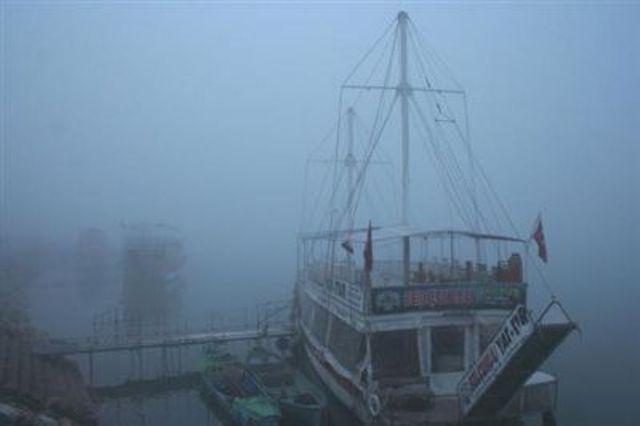 Beyşehirli balıkçıları şimdi de sisli hava vurdu 10