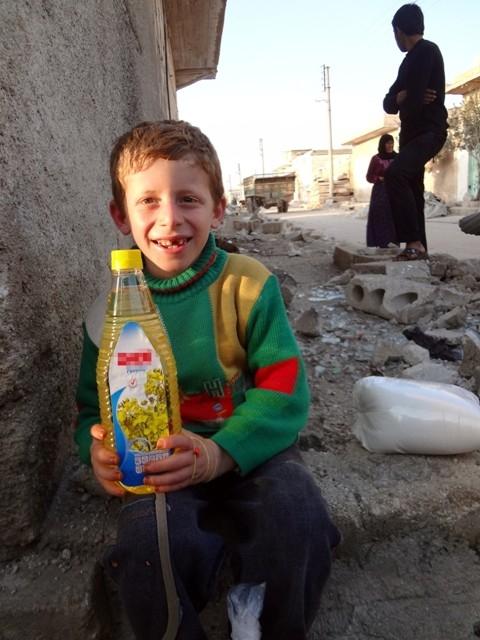 Suriye'nin patatesle mutlu olabilen yetimleri 10