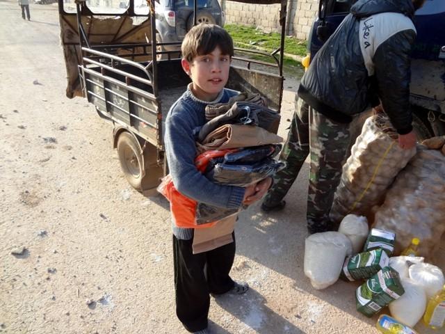 Suriye'nin patatesle mutlu olabilen yetimleri 4