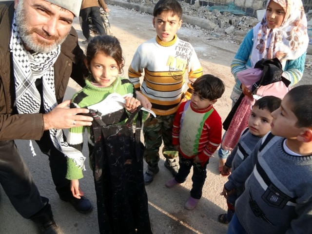 Suriye'nin patatesle mutlu olabilen yetimleri 8