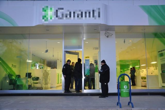 Konya'da silahlı banka soygunu 1