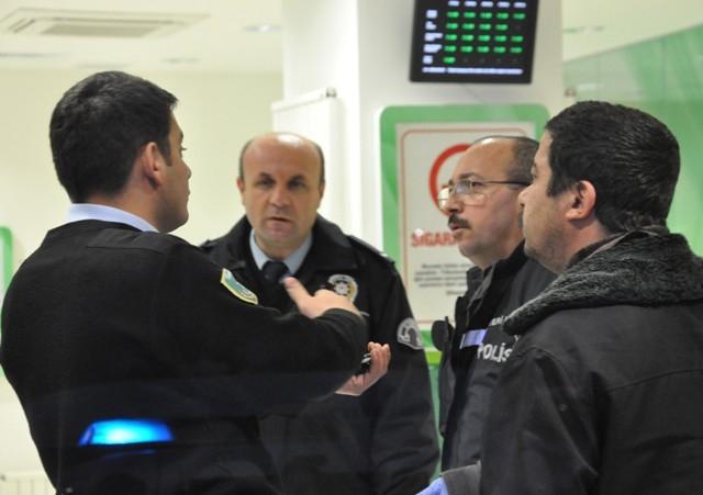 Konya'da silahlı banka soygunu 11