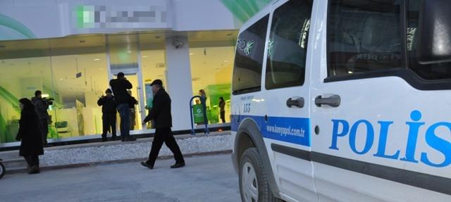 Konya'da silahlı banka soygunu 5
