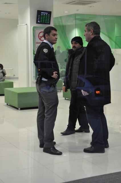 Konya'da silahlı banka soygunu 7