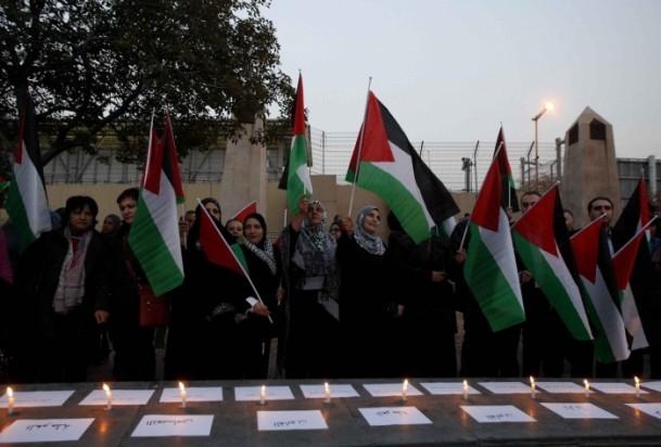 Yermuk Kampı'ndaki insani dram protesto edildi 2