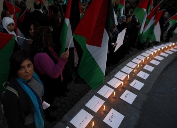 Yermuk Kampı'ndaki insani dram protesto edildi 20