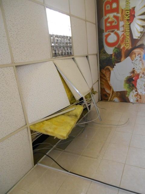 Konya'da marketten hırsızlık 1
