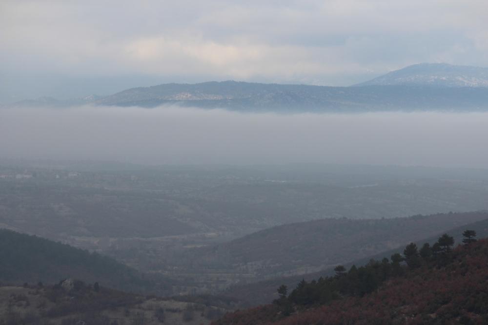 Beyşehir'de sis 3