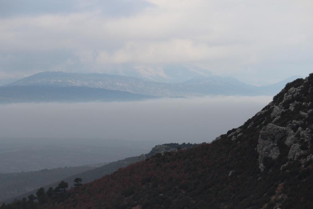 Beyşehir'de sis 4