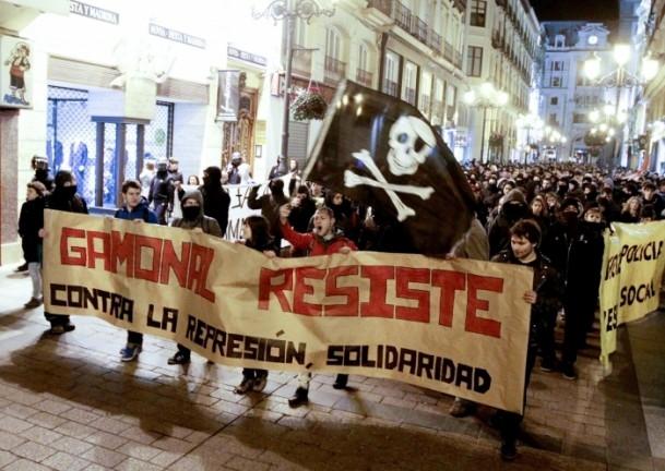İspanya'da Burgos'a destek gösterileri 2