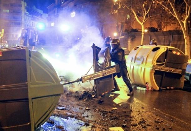 İspanya'da Burgos'a destek gösterileri 5