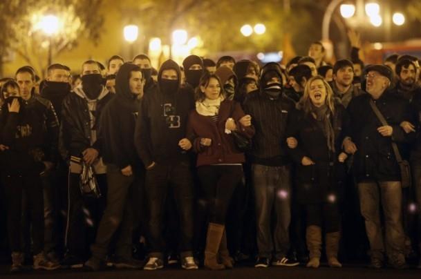 İspanya'da Burgos'a destek gösterileri 8