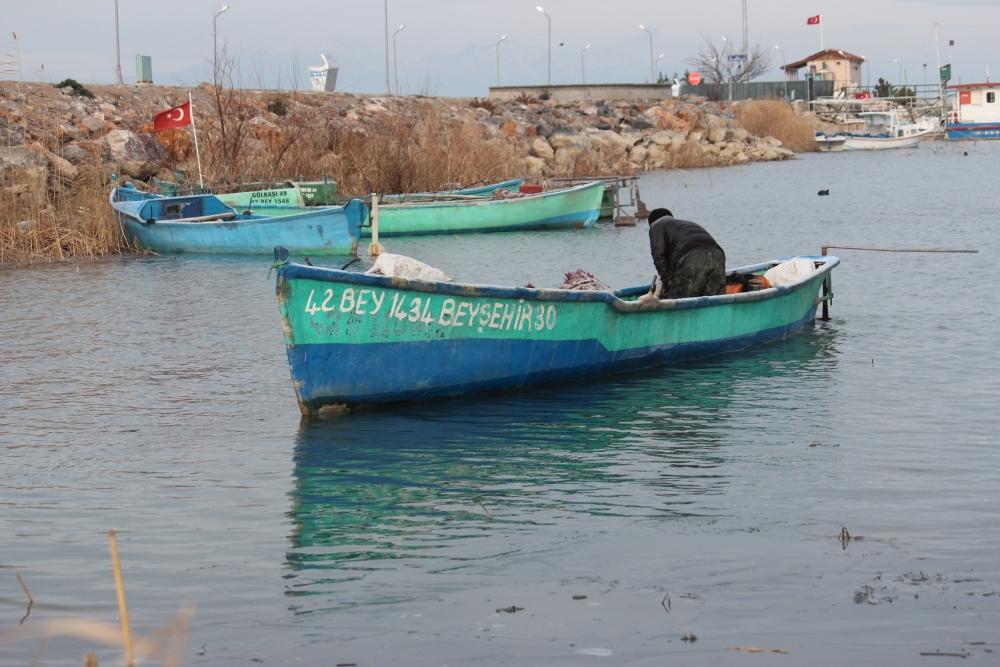 Beyşehir Gölü'nden geçen yıl 225 ton balık çıktı 1