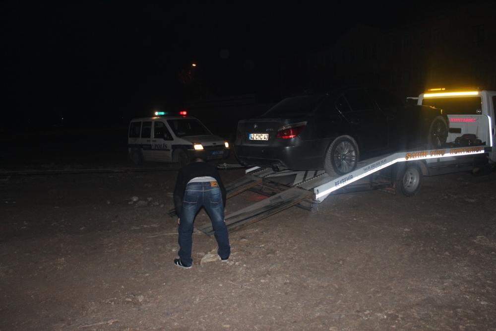 Konya'da şüpheli-polis kovalamacası 2