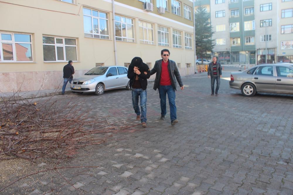Konya'da şüpheli-polis kovalamacası 3