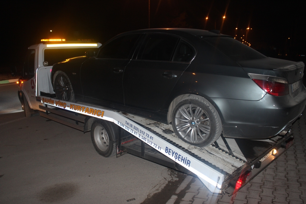 Konya'da şüpheli-polis kovalamacası 4