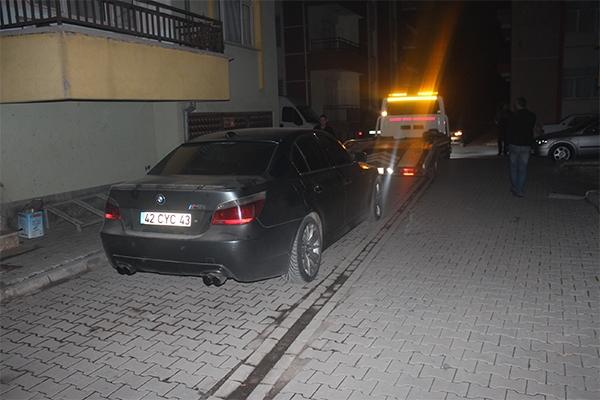 Konya'da şüpheli-polis kovalamacası 5